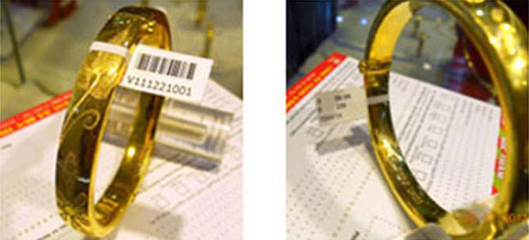 Giải pháp máy in tem mã vạch cho cửa hàng vàng bạc trang sức