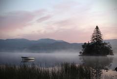 Early morning Lough Eske (mick10004) Tags: lake atmosphere morning dawn mist ireland wild landscape mystical dreamlike irish celtic donegal canon700d canon photo instagram