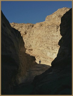 Mosaic Canyon , light and shadow.
