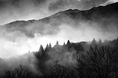 First Light (Christophe_A) Tags: dawn christophe christopheanagnostopoulos nikon d800 180mm hoya gradnd filter bw landscape landscapes mist epirus greece tzoumerka