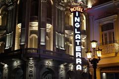 Hotel y teatro (magoseitor1) Tags: canoneos100d cuba lahabana hotelinglaterra neón