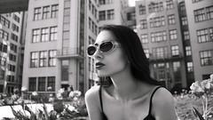 City-life (aleksandra.dylkova) Tags: city clouthes smoke sigarette summer sunset street model modeling makeup modeltest morning portreits photo photographer photoshoot plant fashion flickr flowers girl glasses