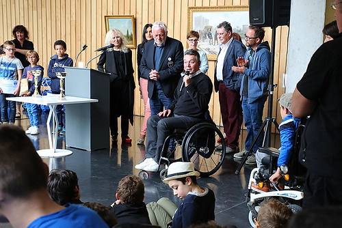 Remise des prix du tournoi de Foot pour Tous © Olivier Drilhon