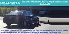 Call at 714-998-8982 for Best Car carpet and Car wash in Anaheim CA - www canyonautospa com (canyonautospa0) Tags: best car carpet wash anaheim ca
