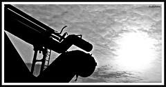 Sun behind the clouds (rasafo66) Tags: henrichshütte hattingen canon canonsx260 farbenspiel rohre industrie routederindustriekultur stahlwerk bw sw