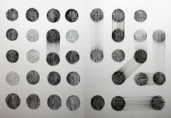 cholerae (Kaja Utkowska) Tags: drawing rysunek circles raster cholera structure substance dynamic statetic composition bw