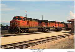 BNSF 4186, 4182 & 6762 (Robert W. Thomson) Tags: bnsf burlingtonnorthernsantafe ge diesel locomotive sixaxle dash9 dash944cw c449w gevo evolutionseries es44 es44c4 train trains trainengine railroad railway helena montana