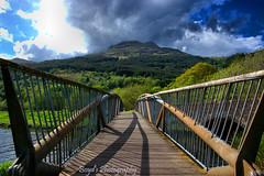DSC_0035 -1wm (Polleepops) Tags: argyll lochlomond lochs clouds cloudporn bridges river water hills landscape