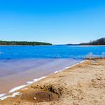 Shore of the beautiful lake thumbnail
