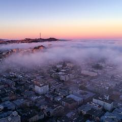 Fog (davidyuweb) Tags: fog sam francisco sanfrancisco sfist 三藩市