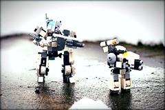 """Imminence"" (Connor Querin) Tags: lego questionaire mf0 mobile frame zero mecha micro"