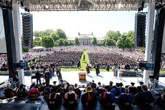 20170515commencment_KB0581 (WFU News Center) Tags: collegiateuniversity commencement pompandcircumstance spirit winstonsalem northcarolina usa