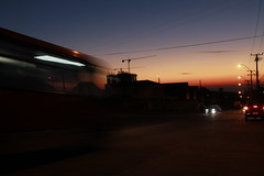 when the sun goes down (afl0ra) Tags: longexposition landscape night lights
