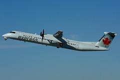 C-FSRY (JAZZ) (Steelhead 2010) Tags: aircanada aircanadaexpress jazz bombardier dhc8 dhc8q400 yyz creg cfsry