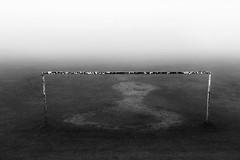 Goal! (PeskyMesky) Tags: aberdeen misr goal football minimal monochrome blackandwhite bw scotland flickr
