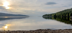 Hagudden (anek07) Tags: lake water spring may sunset birches jetty fryken hagudden nikon thursday torsdag sky clouds
