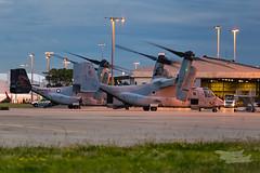 US Marines V-22 Osprey 07 YSSY-8353 (A u s s i e P o m m) Tags: v22 osprey v22osprey usmarines sydneyairport syd yssy mascot newsouthwales australia au