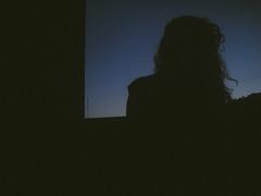 (Eliza Majevski) Tags: evny blue sky bluesky silhouette girl curlyhair