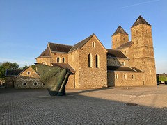 Early morning in Susteren (Edwin Verhulst) Tags: morning early sunny netherlands limburg susteren basiliek amelberga suestra basilica