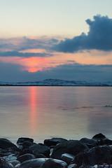 Vardø at Night. (Kjell75) Tags: vardø varanger ignordnorge igfinnmark ngc natgeo bbc nrk nature sea water sky cloud visitfinnmark visitnorway outdoor dusk twilight sunset