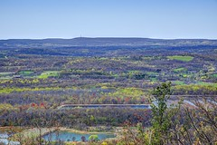 When Spring and Fall are One (kirstenscamera) Tags: outside highpoint newjersey newyork blackdirtregion wallkillriver wallkillrivervalley ridge mountain hike path vista viewpoint ny outdoors lake water marsh spring monument foliage april2017 nj appalachiantrail at pond field meadow forest nikon d810