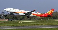 Hainan Airlines B-8016 _MG_0116 (M0JRA) Tags: hainan airlines b8016 manchester airport planes jets flying aircraft runways sky clouds otts