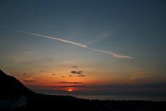 love (dimatteoeleonora) Tags: cefalù sicilia sicily flickrdiamond home sunset tramonto love landscape sky skyporn skyscape plane italy incrediblenature nature natura blu blue red rosso shape peace country