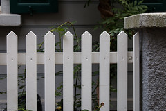 front.yard.fence (fhenkemeyer) Tags: holz stein zaun stone wood fence hff