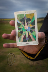 Talking With Thoth (2) (PHH Sykes) Tags: thoth tarot aleister crowley frieda lady harris card deck book