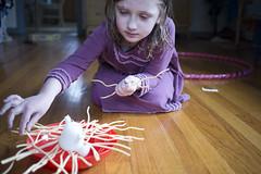 Yeti in My Spaghetti (K.Logan.Sullivan) Tags: homeparkrose yeti spaghetti game