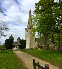 St Mary's Church, Lower Slaughter, Gloucestershire