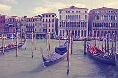 A memory of an ancient romance (Paulina_77) Tags: italy venice italia veneto travel canal canals mood vintage tones postcard