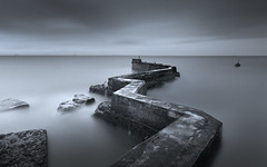 Seven Minutes Before Dawn (Adam West Photography) Tags: adamwest longexposure scotland sky timelapse uk east fife neuk sea