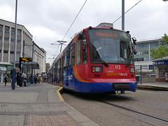 Sheffield Supertram 113 (Boothby97) Tags: sheffieldsupertram stagecoach siemensduewag tram 750vdcelectric 750vdc sheffield yorkshire castlesquare yellowline supertram113