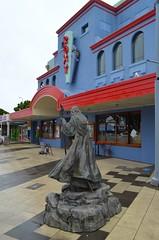The Roxy Cinema (Neal D) Tags: wellington newzealand miramar roxy roxycinema statue gandalf
