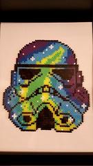 Stormtrooper (Claire Coopmans) Tags: hama beads bead perler perles perle stormtrooper starwars pixels pixel art pixelart geek