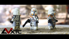 2nd Airborne Company - ROTS (AndrewVxtc) Tags: lego star wars custom clone paratrooper revenge sith rots airborne trooper waterslide decals andrewvxtc