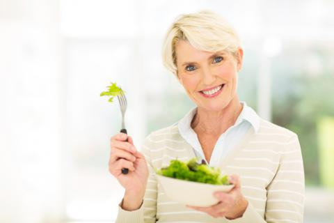 Diet to reduce the risk factors for menopause