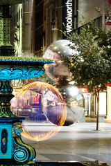 P4270445 (Nicole Tilbrook) Tags: adelaide night rundle mall light painting