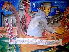 POVEGLIA - Isle of the Dead - a outer suburb of VENICE - where our heroes are headed (keiths artwork) Tags: povegliaisland deadtwiggy la frond