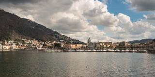 Panorama over Como.