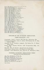 1925-09-21-Organization Day program-15 (Old Guard History) Tags: 1925 3dusinfantryregimenttheoldguard fortsnelling minnesota organizationday