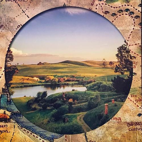 哈比屯~夏爾到了,快把魔戒交出來吧!  #江湖跑堂 #世界走破 #江湖的紐西蘭探險記  #魔戒馬拉松要不要辦一下