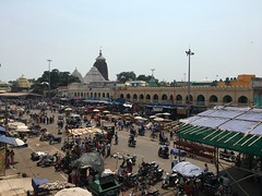 Lord Jagannath Temple,Puri (sladdha) Tags: temple lord jagannath puri orissa india market chowk