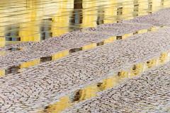 Reflection (ToDoe) Tags: reflection reflexion spiegelung yellow diagonal schlos castle gelb