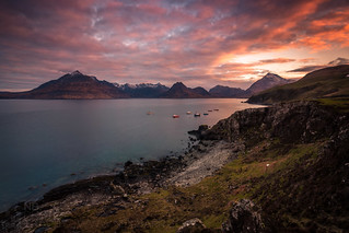 The Cuillins at Dawn