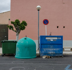 Gathering (AstridWestvang) Tags: building containers mallorca palma spain street trees