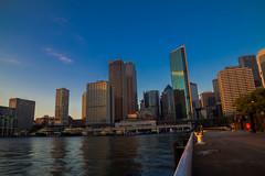 Sydney, Australia - April 26, 2017: (AlfonsoFD) Tags: travel cbd 2017 canoneos sydneyoperahouse sydneyharbour sydney australia sunrise skyline therocks canon canon6d circularquay nsw newsouthwales