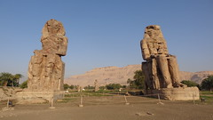 Colossi of Memnon (Rckr88) Tags: colossi memnon colossiofmemnon luxor egypt african africa travel travelling ancient ancientegypt relic relics statue statues pharoahs pharoah