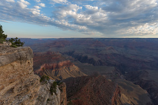 Grand Canyon View & Clouds